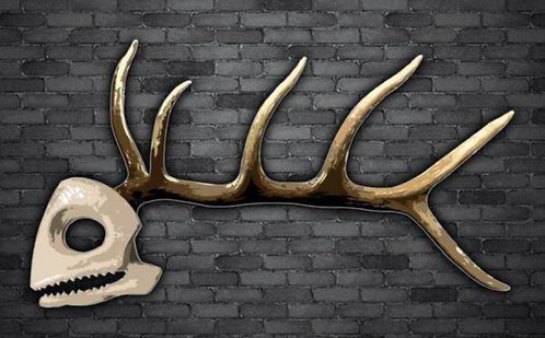 Nothing But Bone Decal