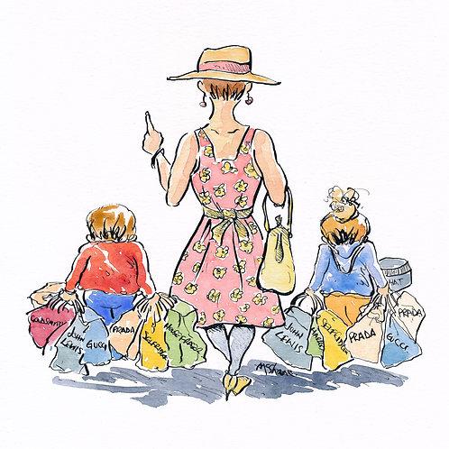 Shopping Day (No.76)