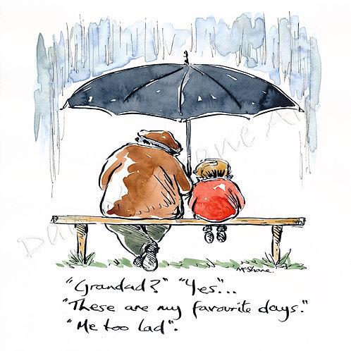 'Favourite days Grandad' (No34)