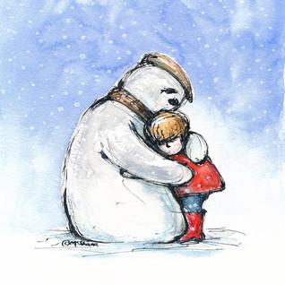 86 Snowman Hug