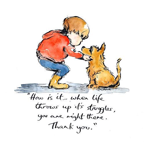 Thank you (No.51)