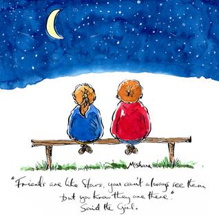 Friends like Stars.