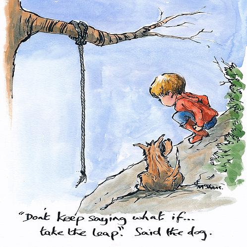 Take the leap (No.42)