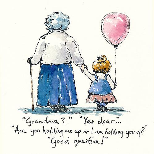 Holding up Grandma (No.52)