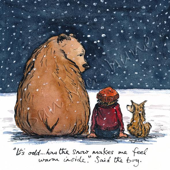 Snow & Warm