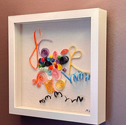 Paper Quilling Designs Wall Art