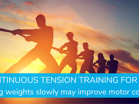 Continuous Tension Training For EDS