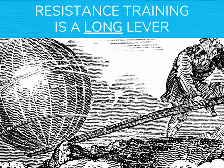 Resistance Training is a LONG Lever