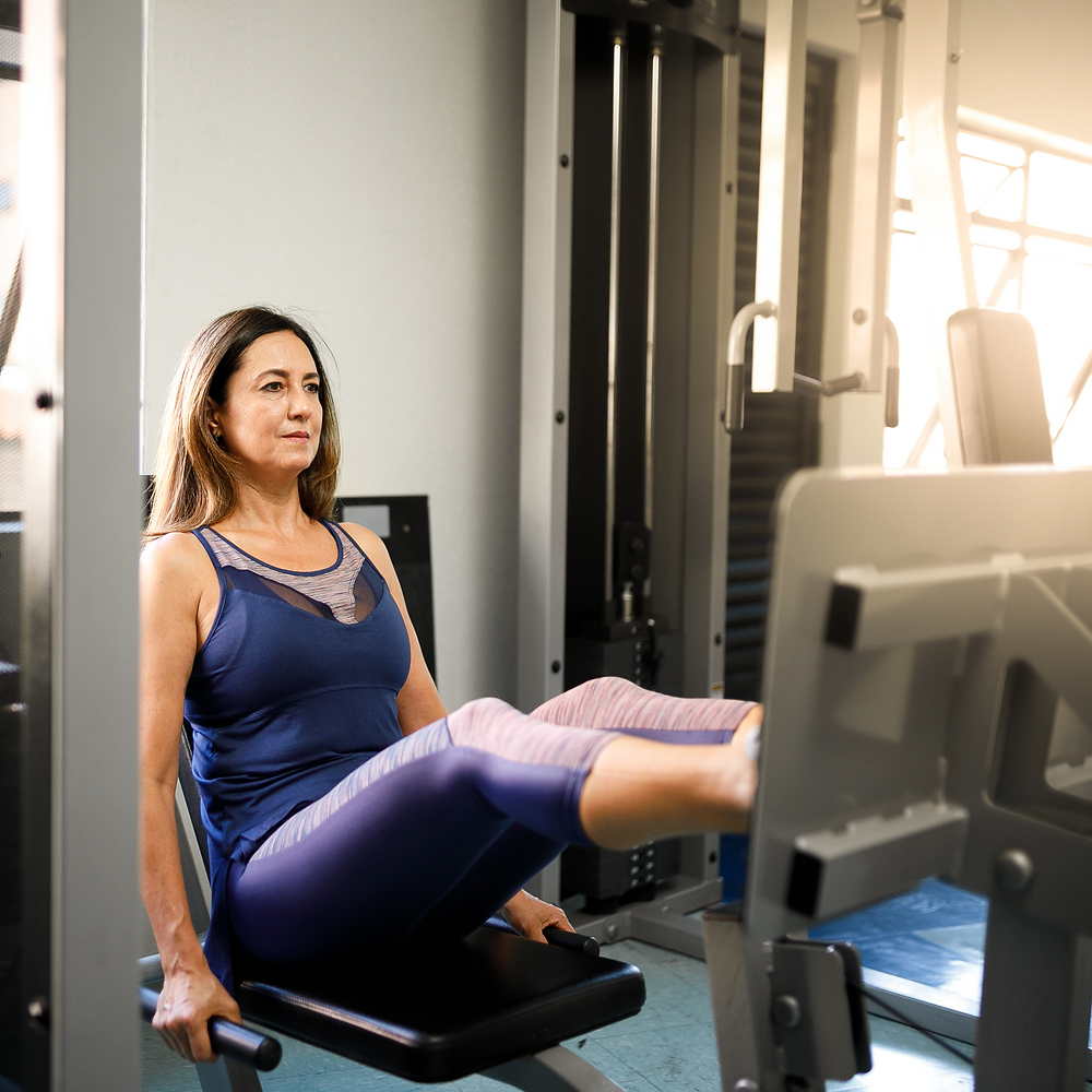 With POTS, seated exercise machines can make training more tolerable.