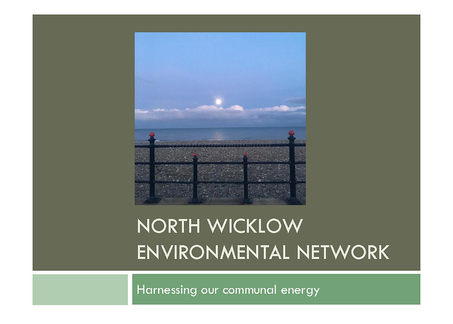 NORTH WICKLOW ENVIRONMENTAL NETWORK cove