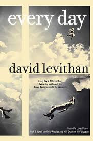 The cover of David Levithan's novel Every Day