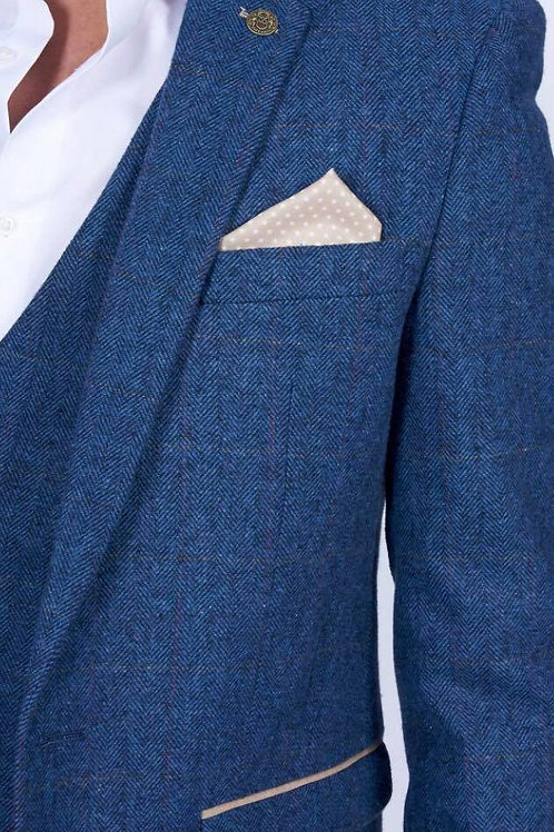 Blue Tweed Dion blazer