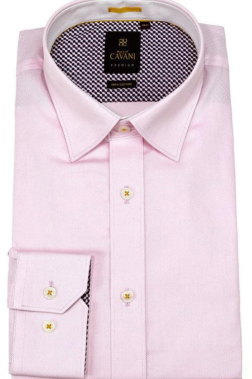 Pink Long Sleeve Shirt Oxford