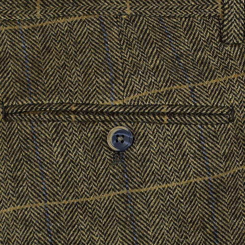Brown Albert Tweed Trousers