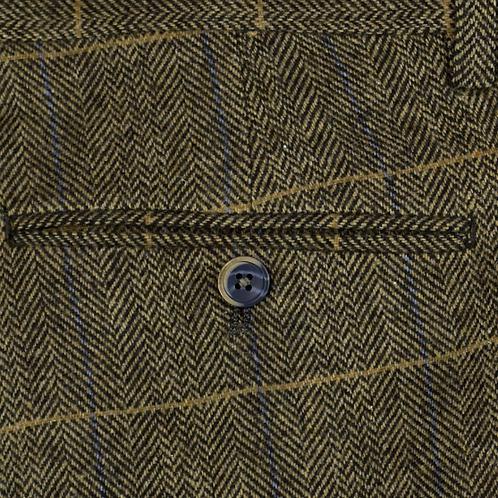 Brown Albert Tweed Trousers