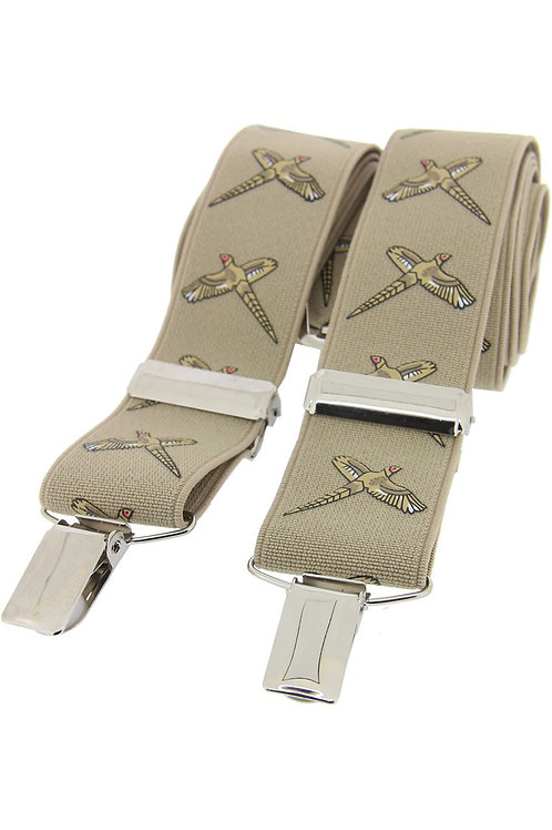 Flying Pheasant Sand 35mm X Style Braces