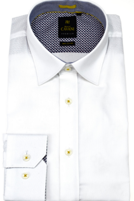 White Long Sleeve Shirt Oxford