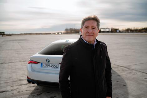 DAVID FERRUFIONO x BMW i4