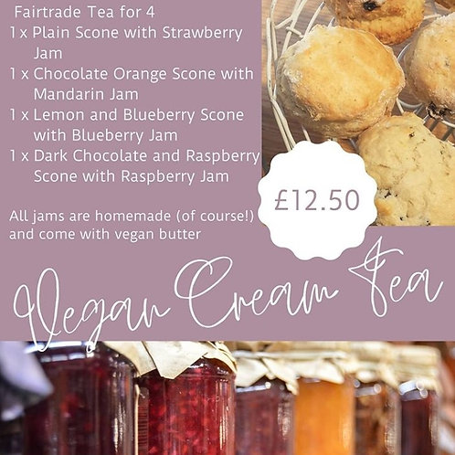 Vegan Cream Tea Box
