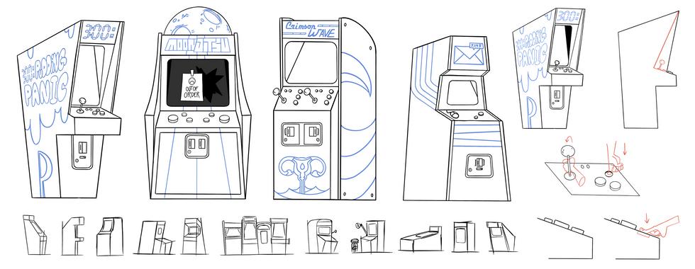 Arcade Props