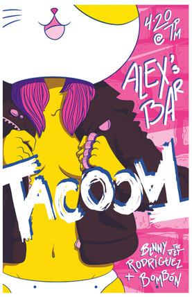 TacocaT Gig Poster