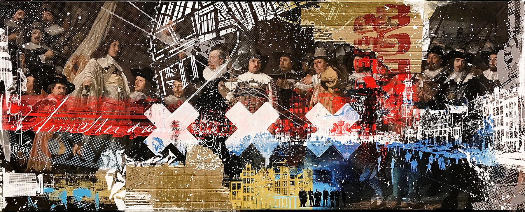 AMSTERDAM! (160 x 64cm)