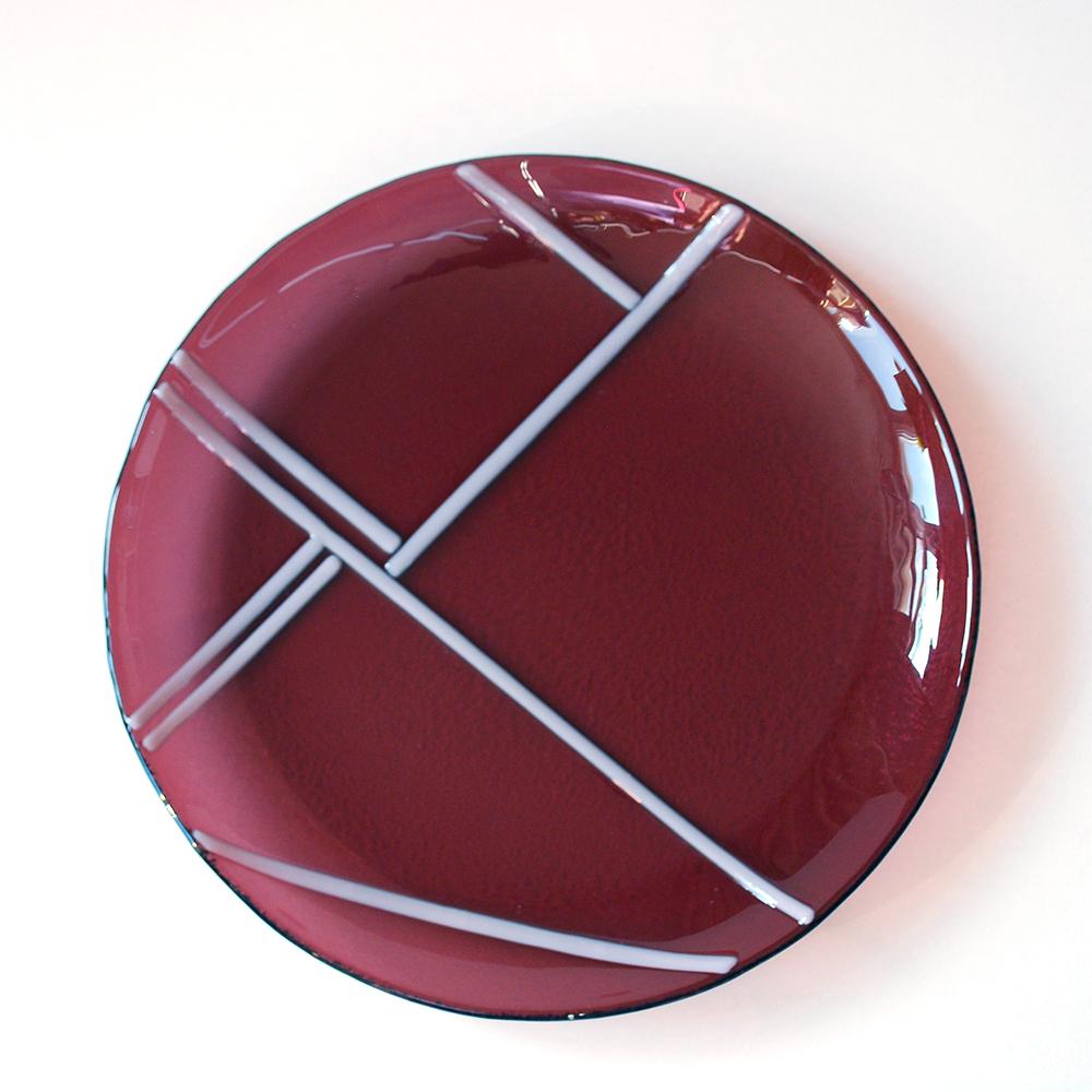 тарелочка из стекла фьюзинг