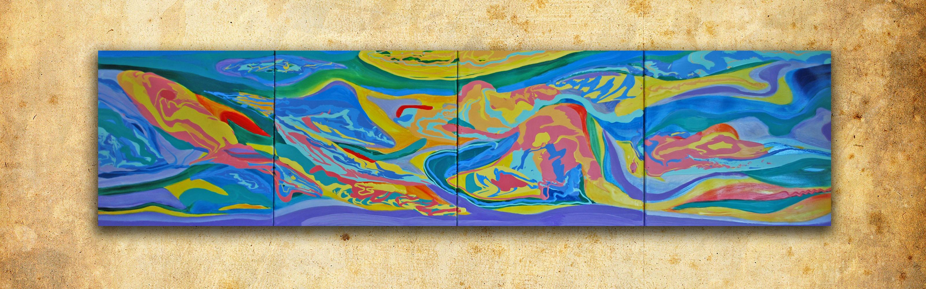Купить абстрактную картину