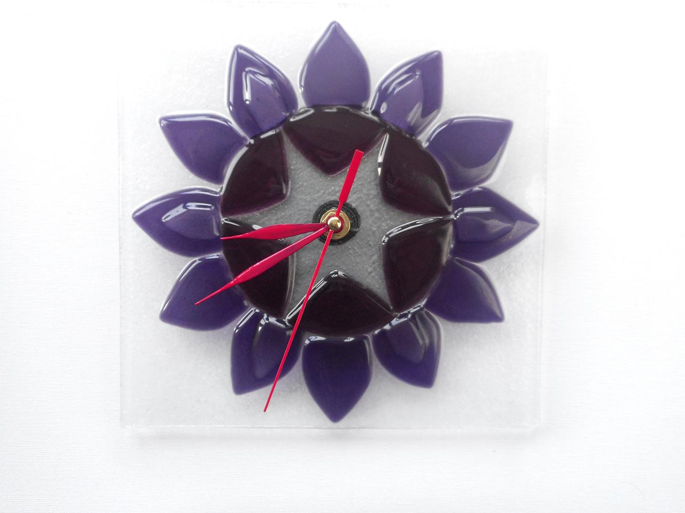 Стеклянные часы фьюзинг