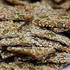 Sesame Low Carb Crackers