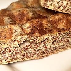 Flax Seed Belgian Waffle
