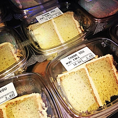 Slice of Cake (Vanilla or Chocolate)