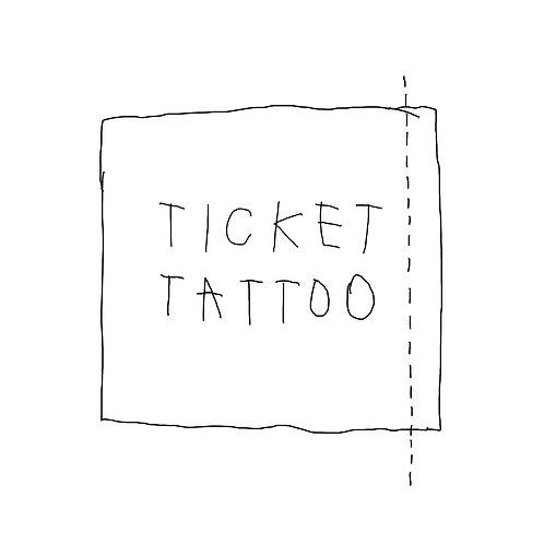 ticket tatuagem