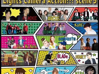 2017年3月17日開催 CLOWN'S CROWN「Lights Camera Action!!! scene5」に今回も出演致します‼️
