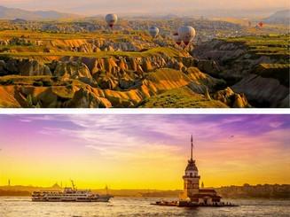 От загадочного Каппадокии на волшебного Стамбула!