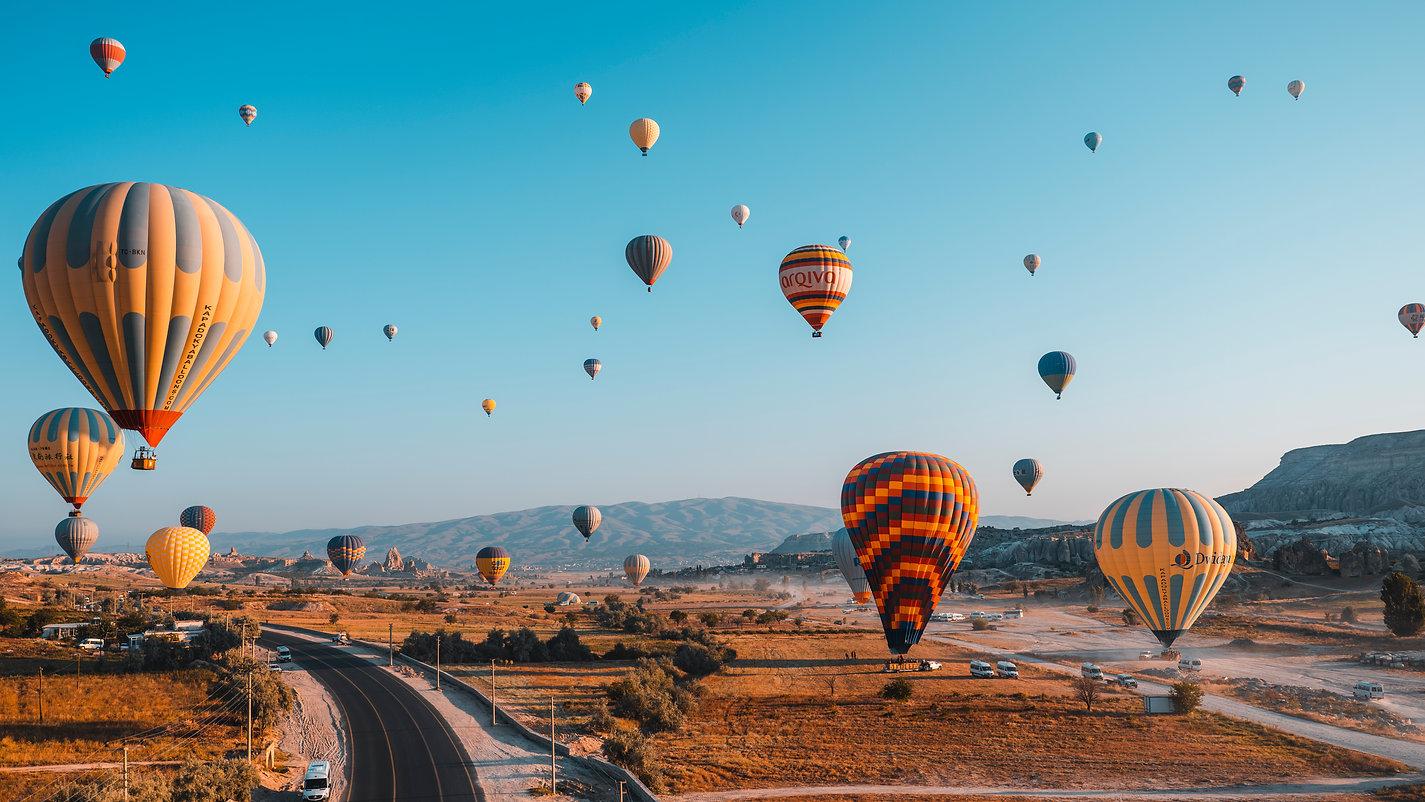 Каппадокия воздушные шары