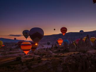 Каппадокия воздушные шары!
