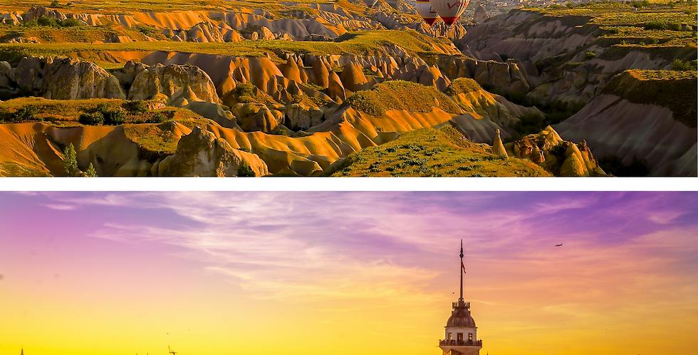 От загадочного Каппадокии на волшебного Стамбула