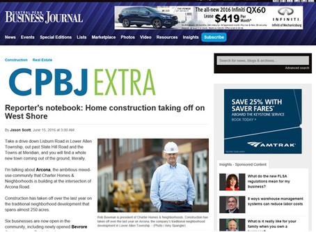 Tall Oaks Project - Central Penn Business Journal