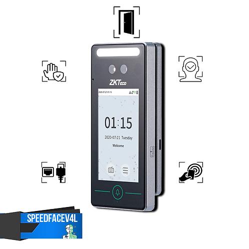 SpeedFaceV4L Control Acceso y Asistencia Facial Palma Tarjeta ZKTeco