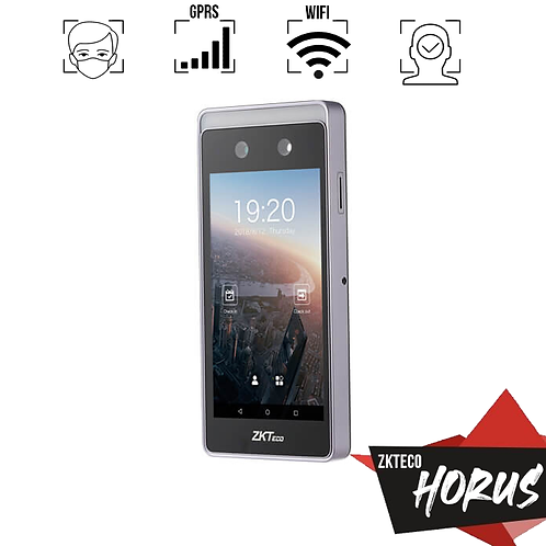 ZKTeco Horus E1 Control de asistencia WiFi/4G con inteligencia IA de la era IoT