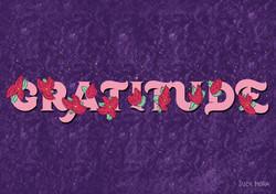You flourish in gratitude