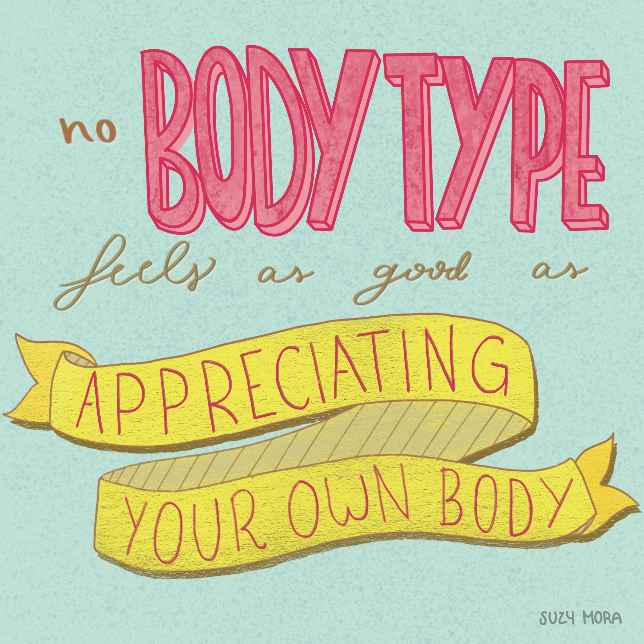 Appreciating your body