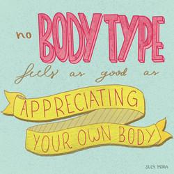 Appreciating your body