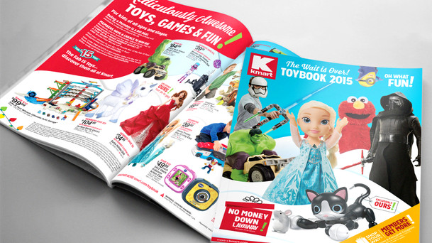 Sears & Kmart Toy Catalogs