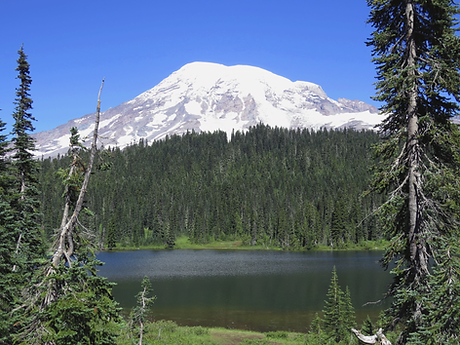 Mount Rainier, Reflection Lakes
