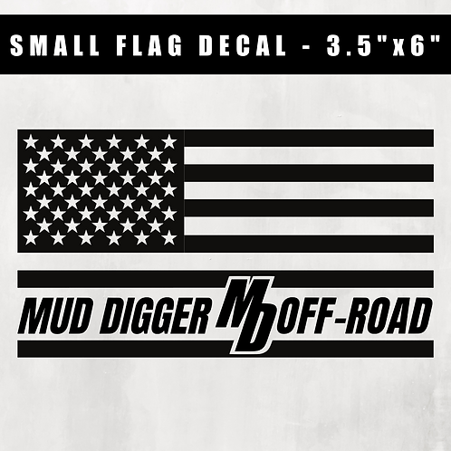 Small Flag Decal