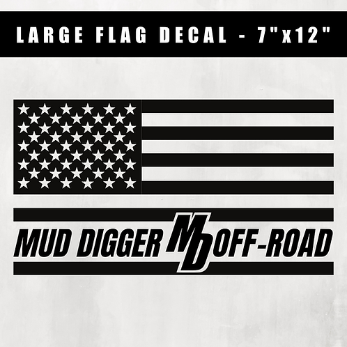 Large Flag Decal