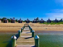 west dock and cabanas 2020