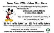 Disney Raffle Tickets - On Sale!